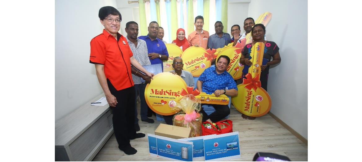 Dreams come true for 10 families as they were handed keys to new home by Mah Sing Foundation through Baiti Jannati @ Wilayah Persekutuan Programme