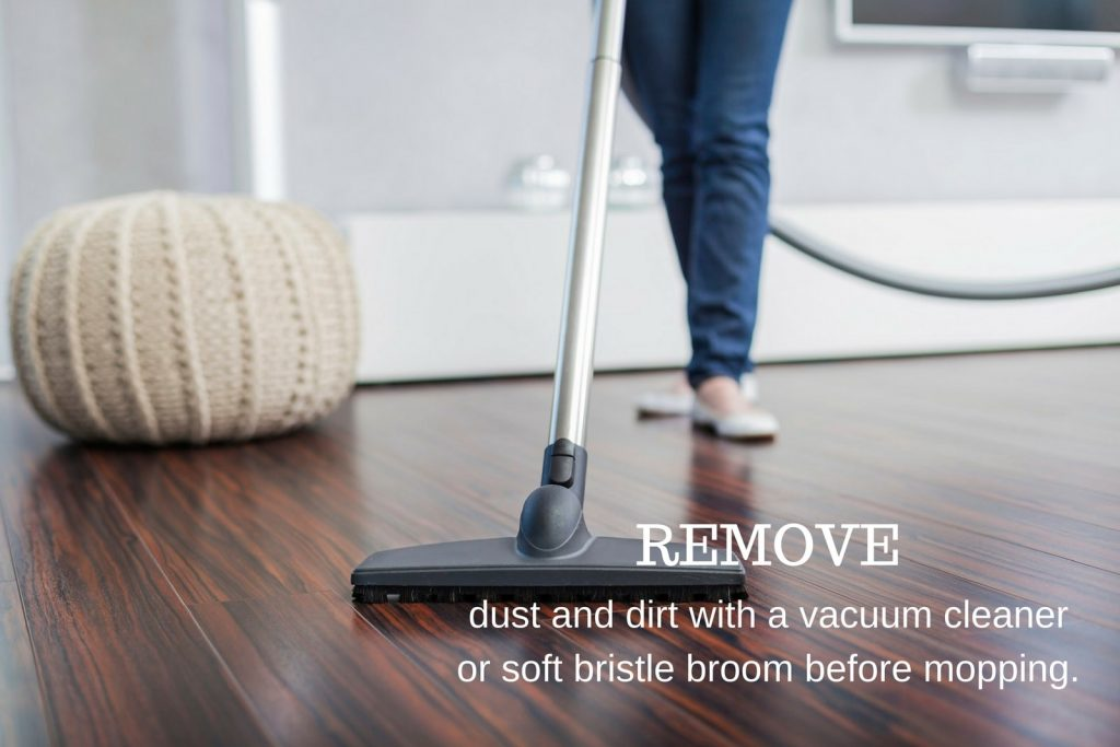 Although There Is No Risk Of Warping If The Laminated Flooring Installed Properly It S Best To Use Proper Floor Cleaners Suited For Wooden
