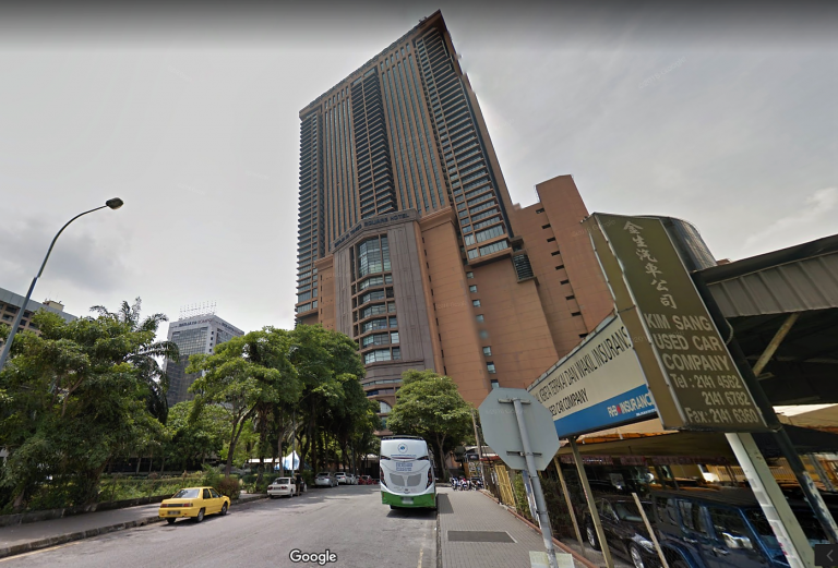 Berjaya Times Square Residence, KLCC.