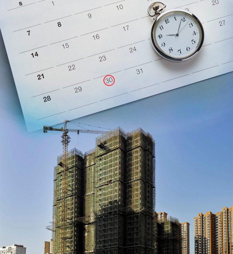 developer delayed project