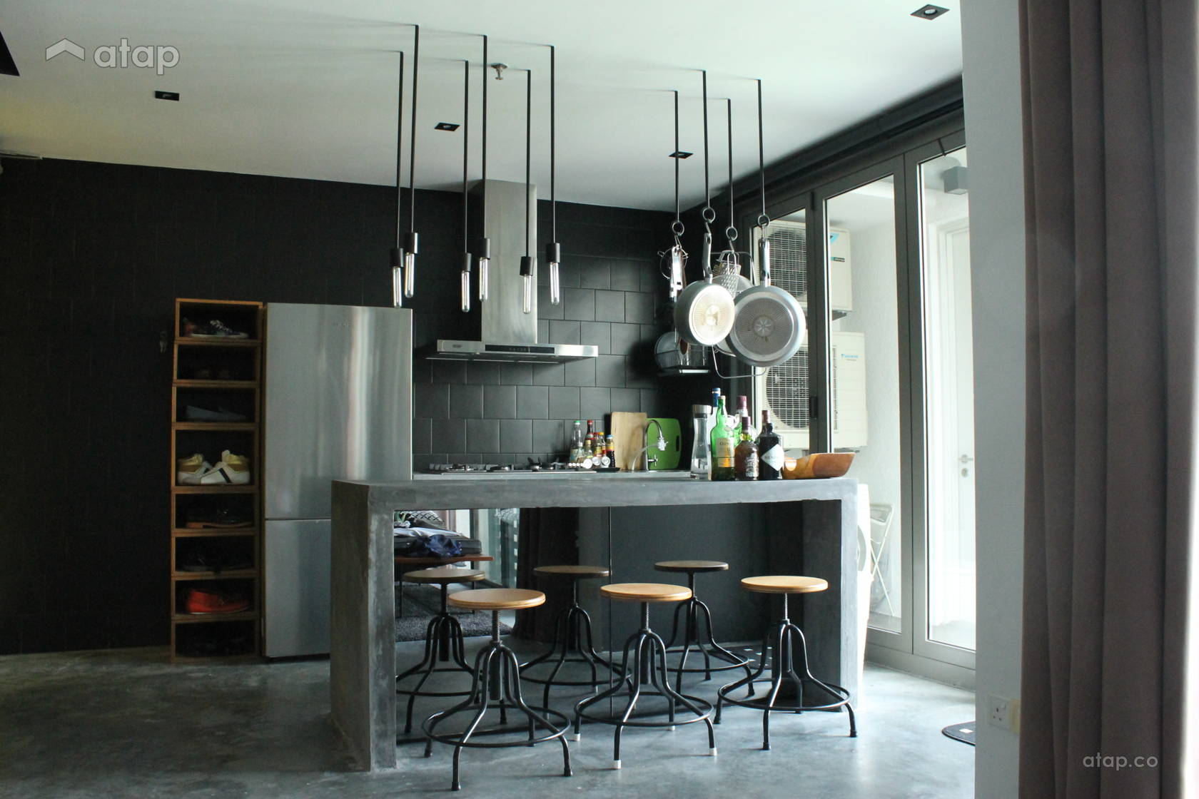These Open Layout Kitchen Designs In Malaysia Are Great For Small