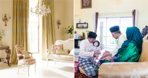 Upcycling old furniture for raya
