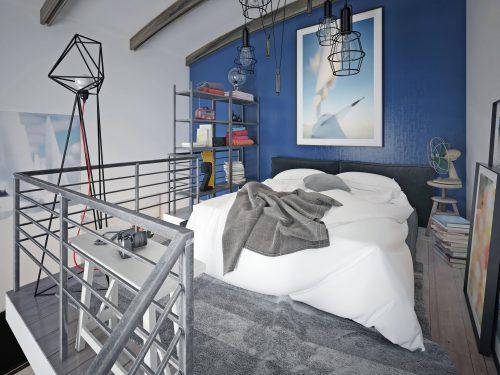 7 idea bernas untuk membuat bilik tidur yang kecil tampak lebih besar main