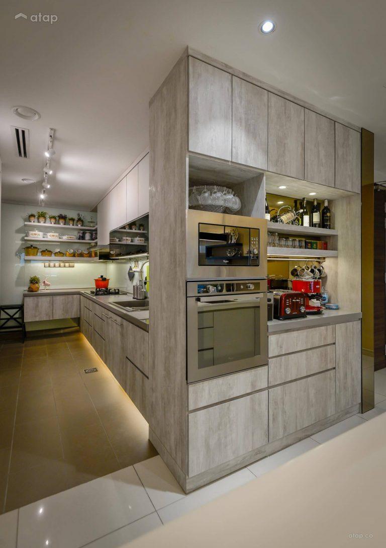 Kitchen cabinet materials - Blockboard kitchen cabinet