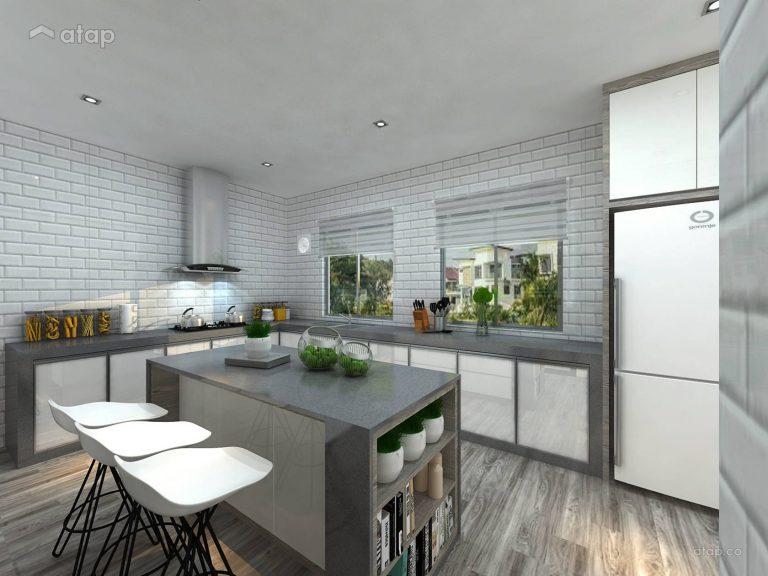 Kitchen cabinet materials - Concrete kitchen cabinet