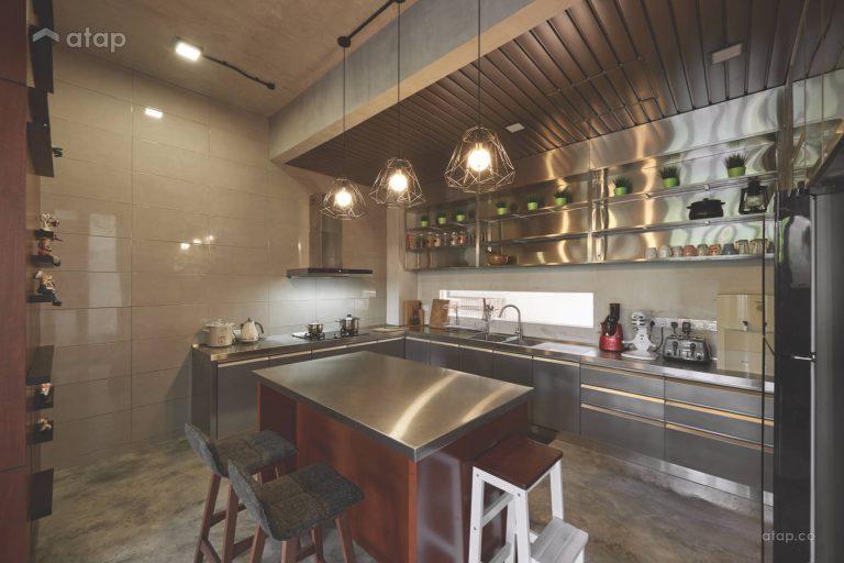 Kitchen cabinet materials - Stainless steel kitchen cabinet