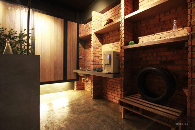 Kitchen cabinet materials - Brick kitchen cabinet