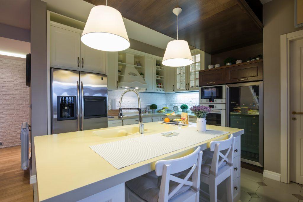 Gambar lampu gantung hiasan untuk dapur