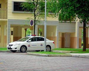police-car-singapore