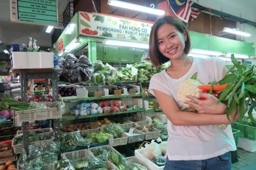 Going zero waste while grocery shopping