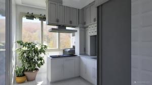 Khalil-Home-Design-8_Kitchen-2-island-ceiling-cabinet