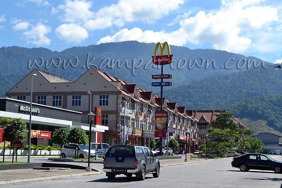 Kampar-New-Town-Mcdonald-Burger-Restaurant