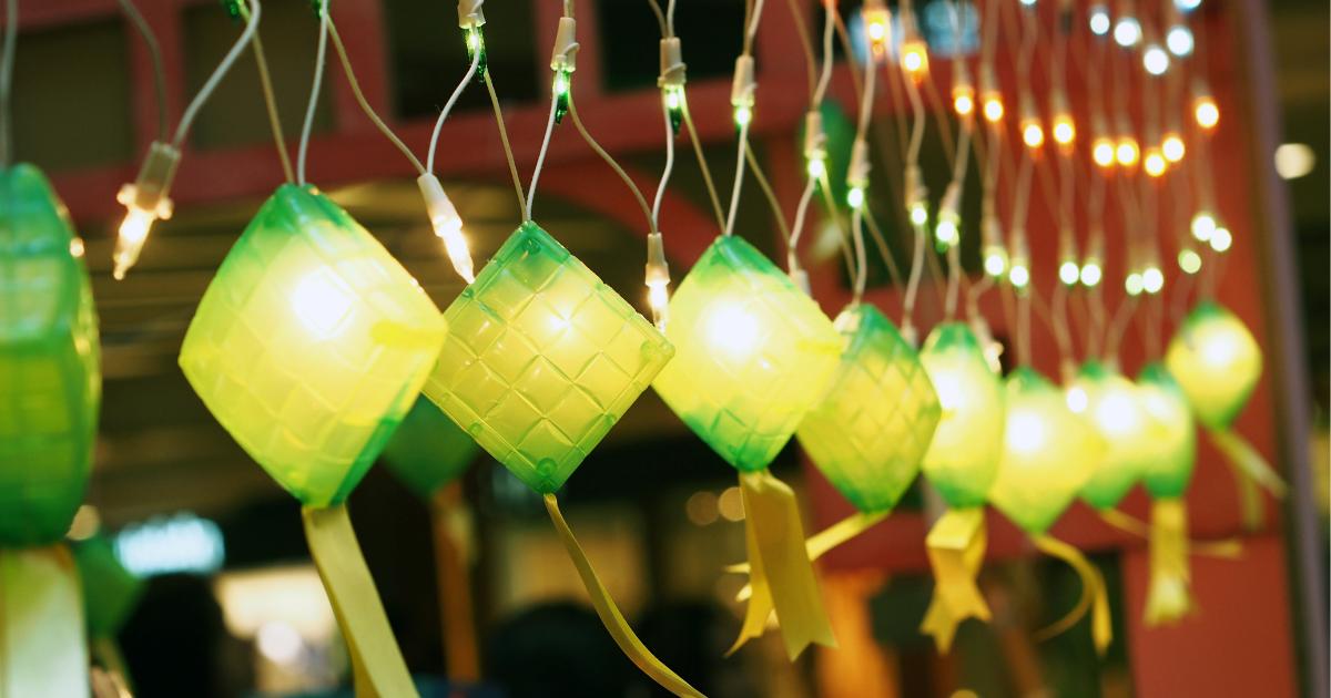 hari raya, raya decoration, decoration, zero-waste, upcycle, zero-waste raya