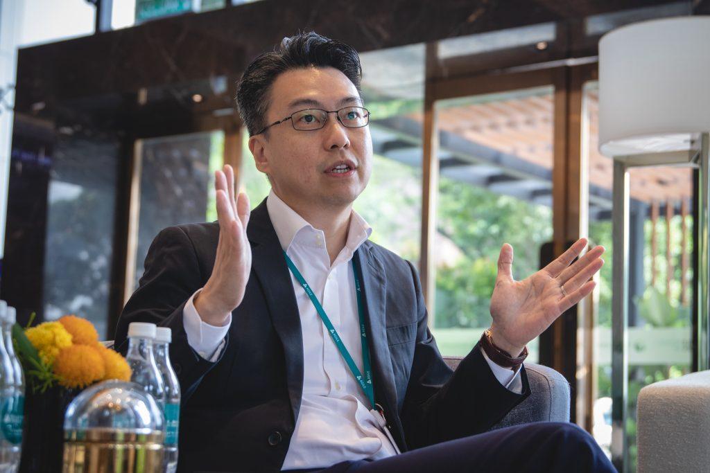 Mr Chai Keng Wai, CEO of Agile Property