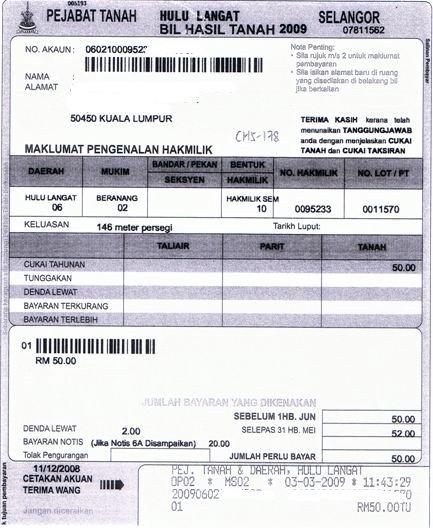 马来西亚屋主的地税、单位地税和门牌税指南 2