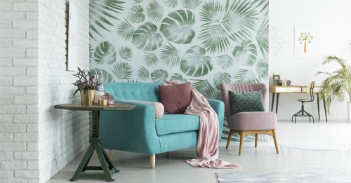 living-room-wallpaper-feature-wall