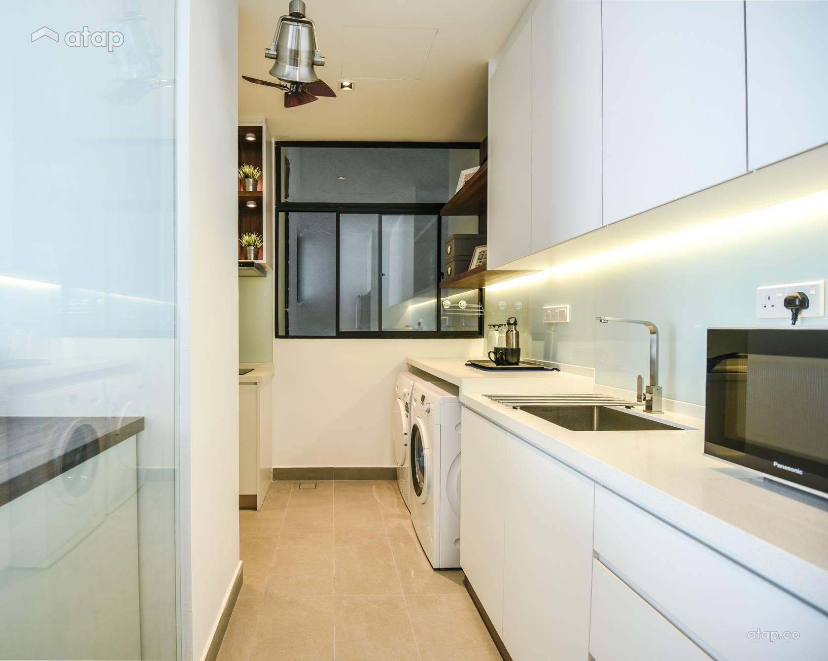 galley-kitchen-design-in-white
