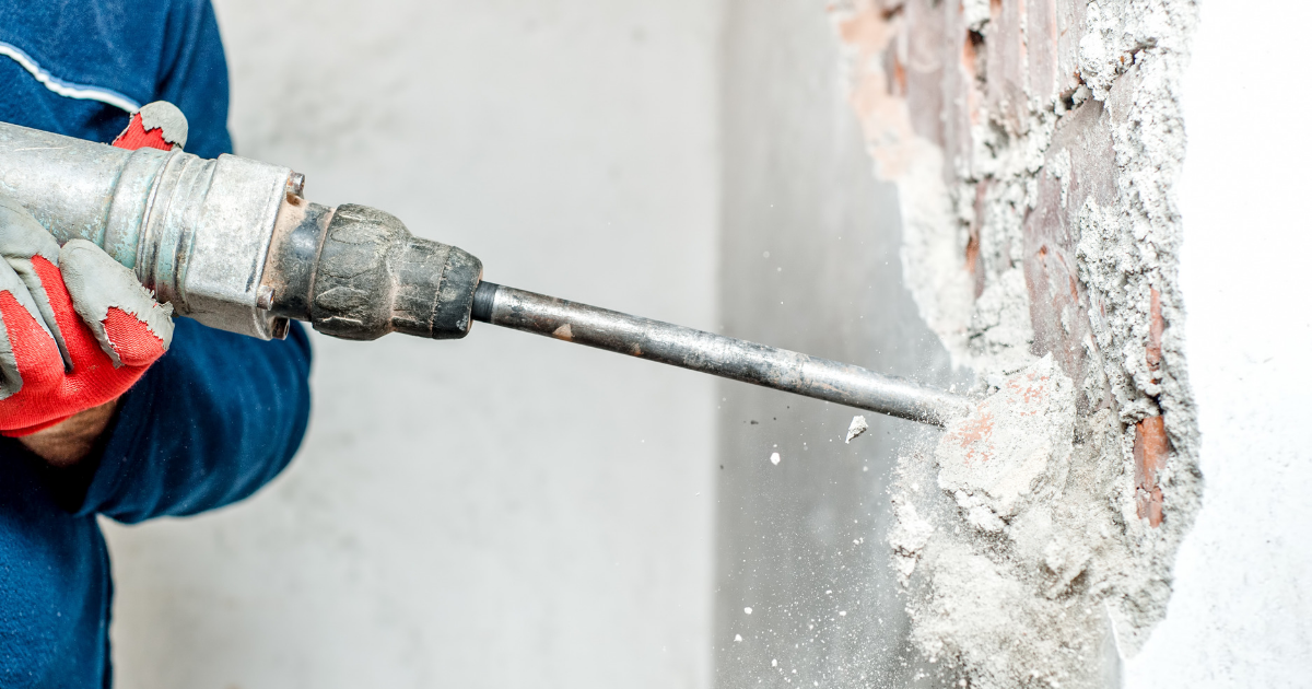 The second part of renovating your home is demolition and clearance.
