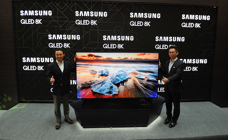 Samsung Malaysia Electronics proudly presents its new, mesmerising 2019 QLED 8K TV