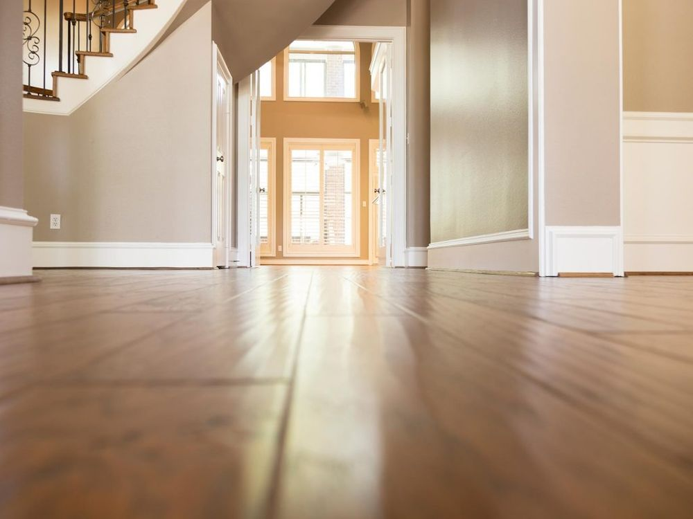 Example of Solid Timber Flooring