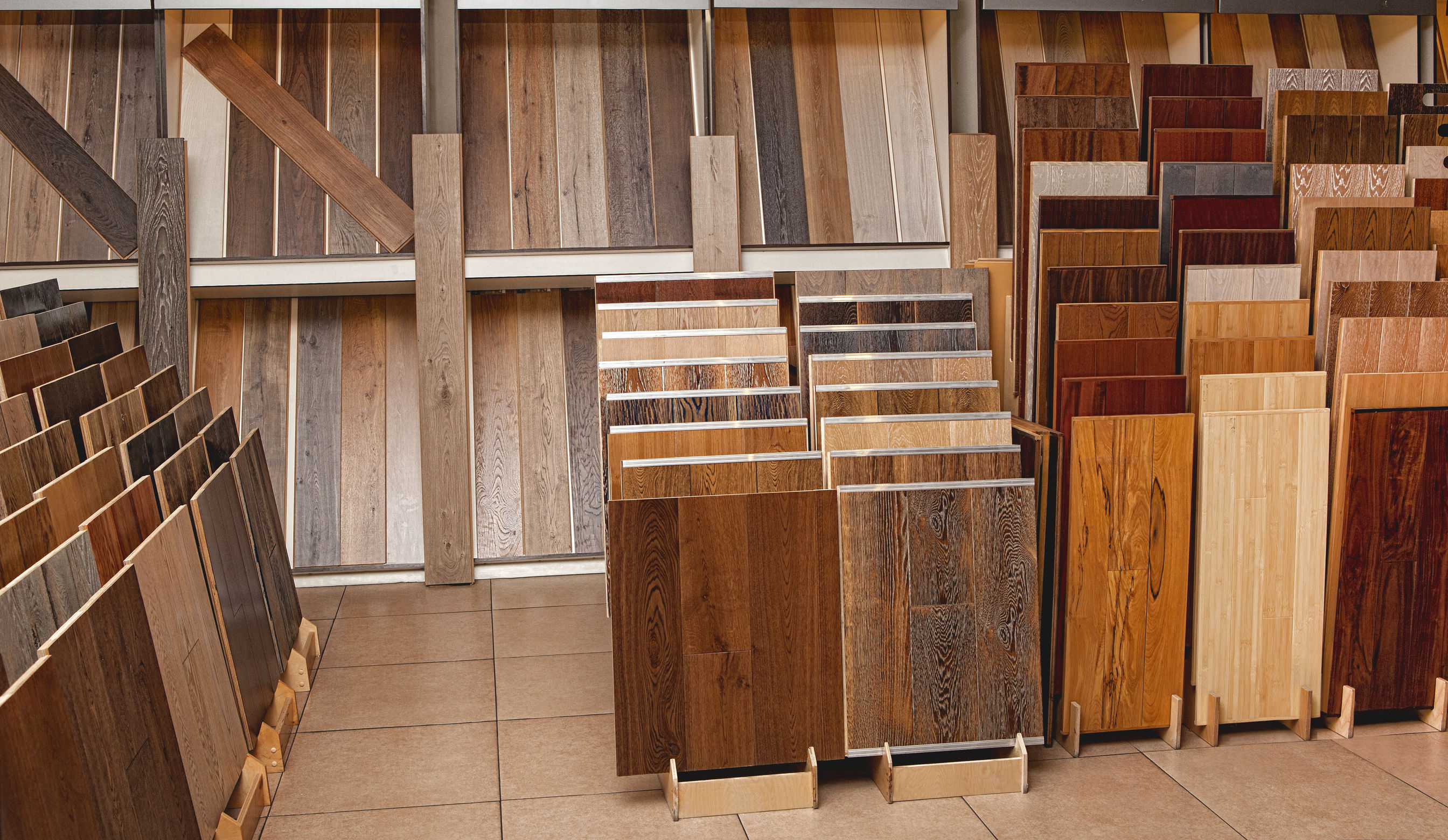 Best wood floor colours