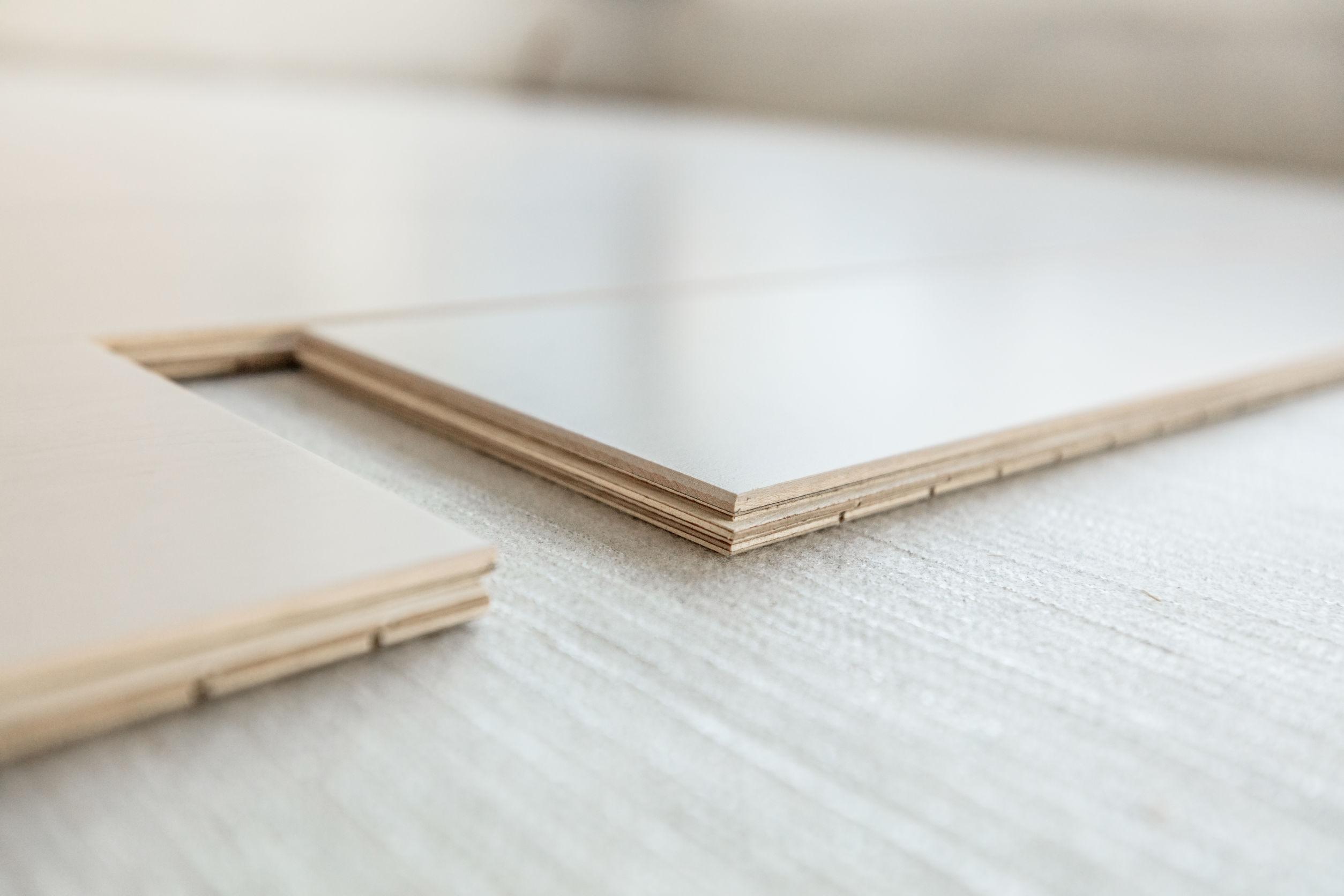 Example of Engineered Wood Flooring