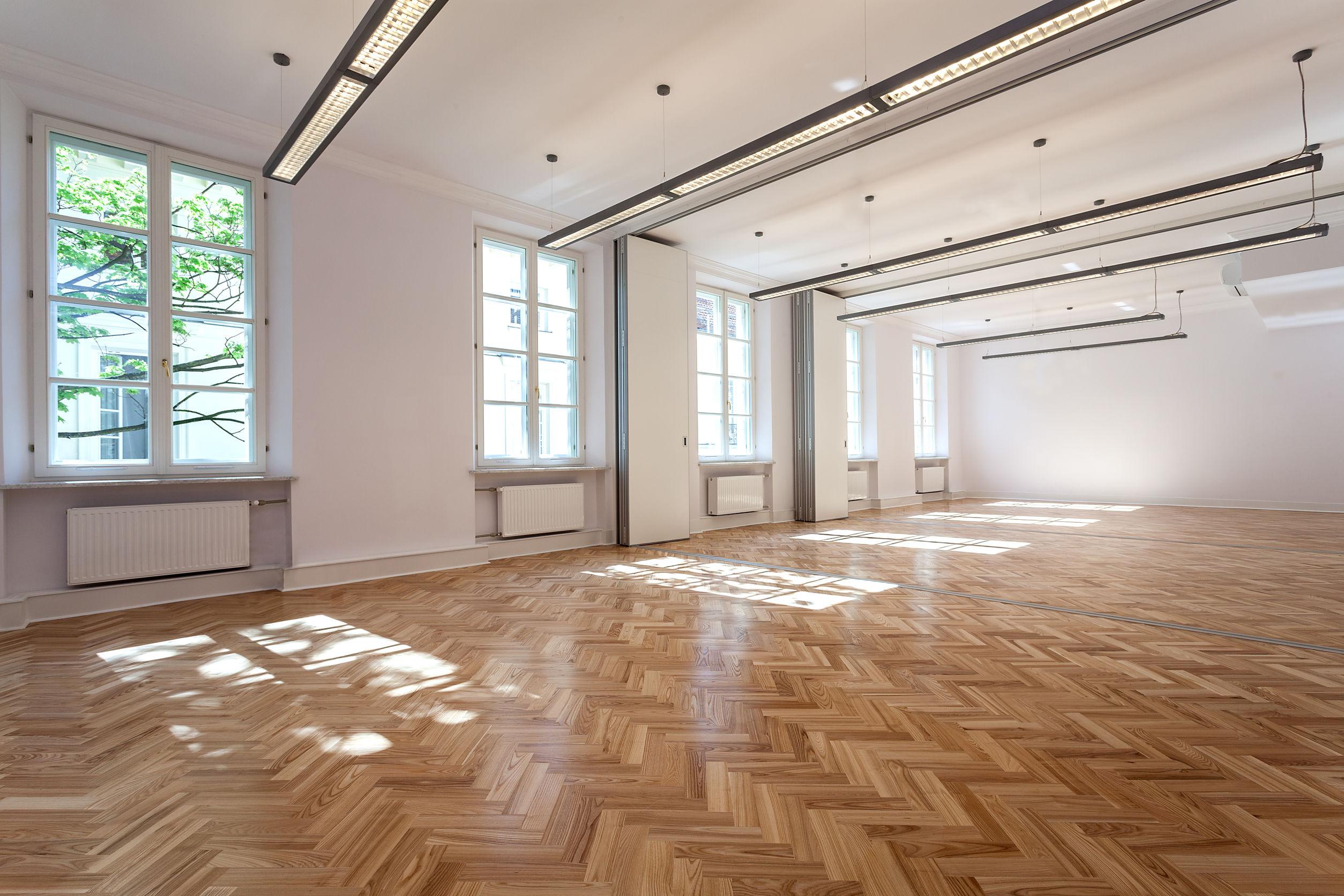 Example of Parquet Wood Flooring
