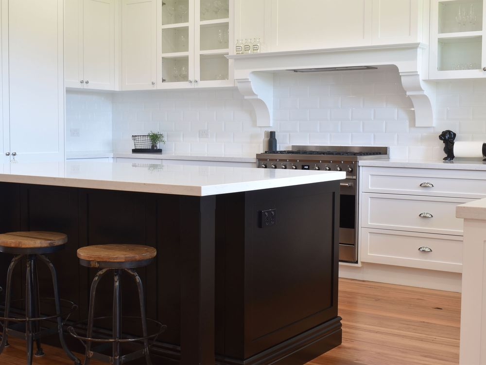Contemporary time shaker home kitchen cabinet ideas
