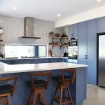 blue-kitchen-cabinetry