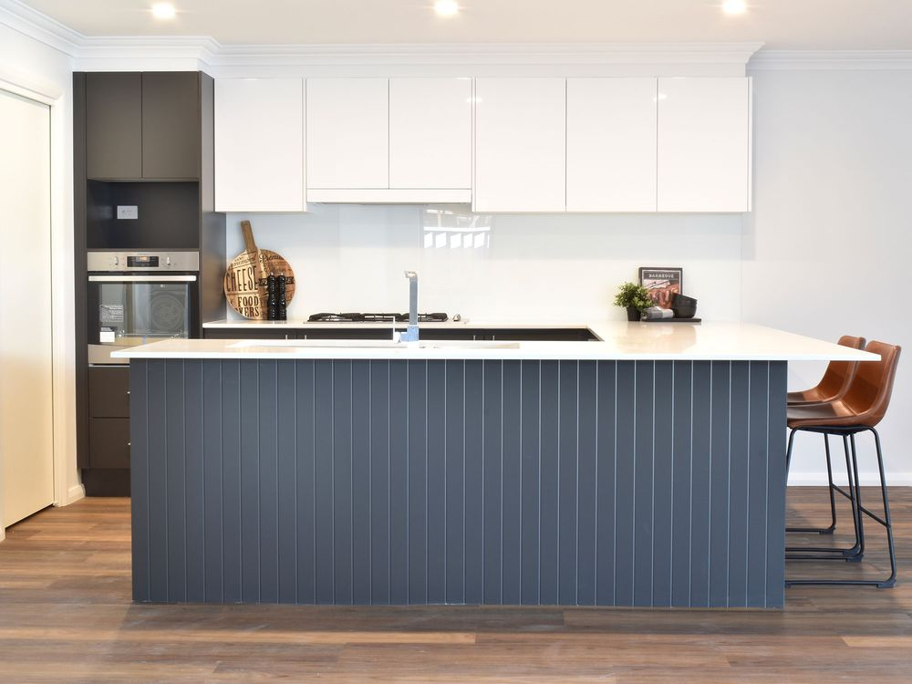 Contemporary custom design home kitchen cabinet ideas