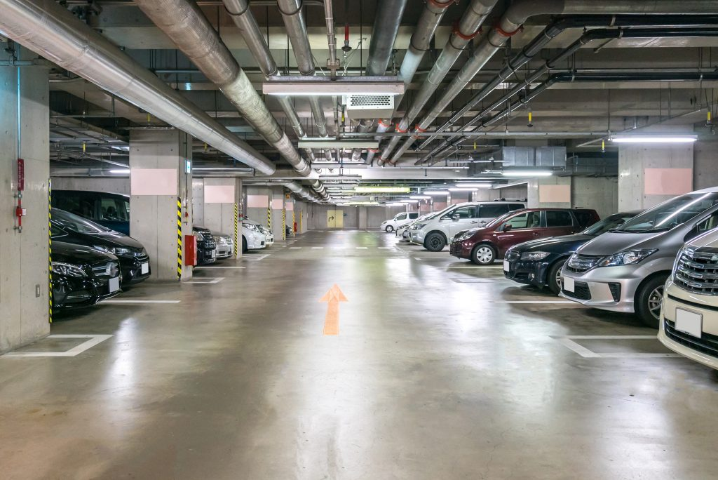 Additional parking bay