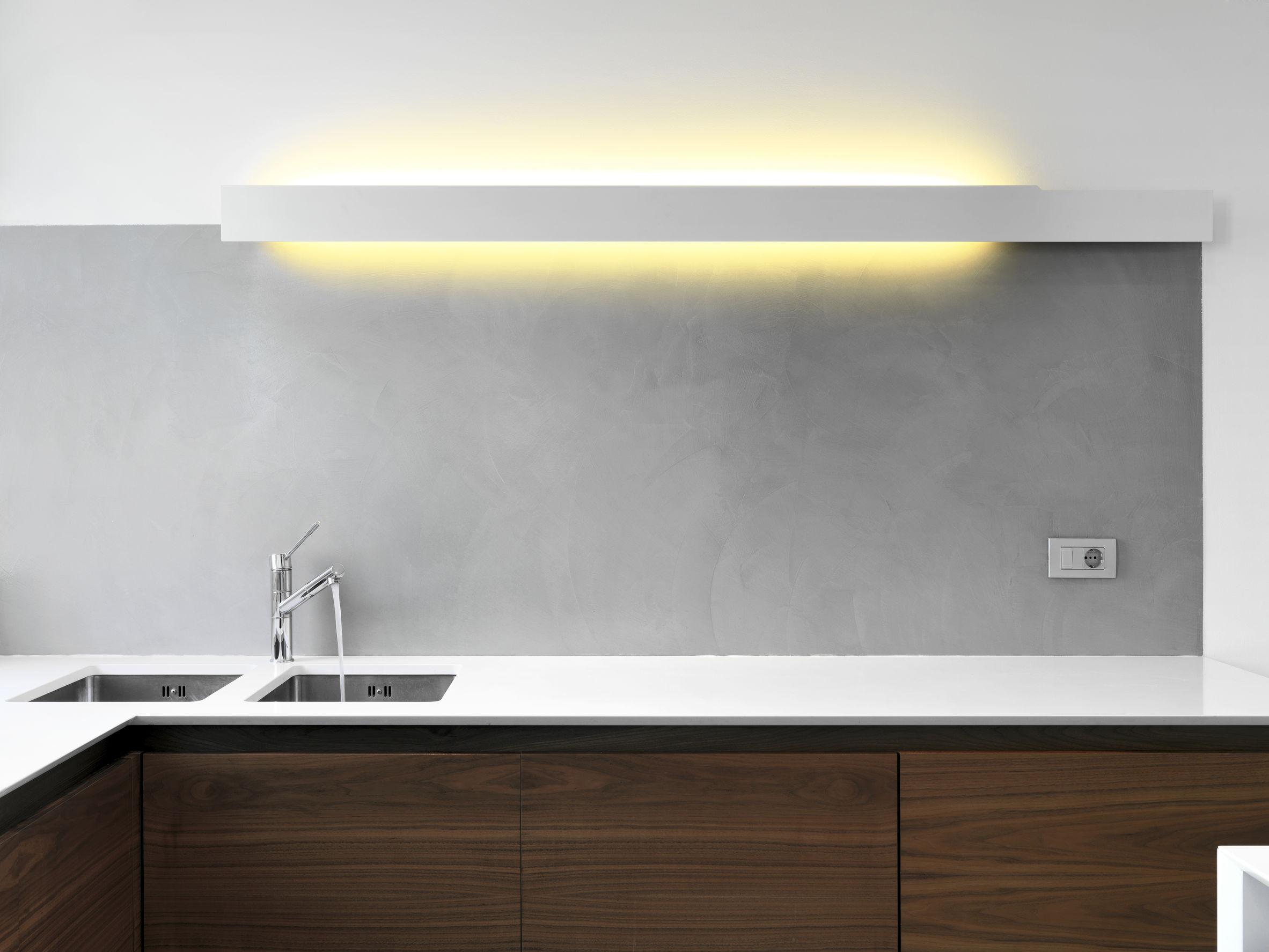 inerior view of a modern kitchen