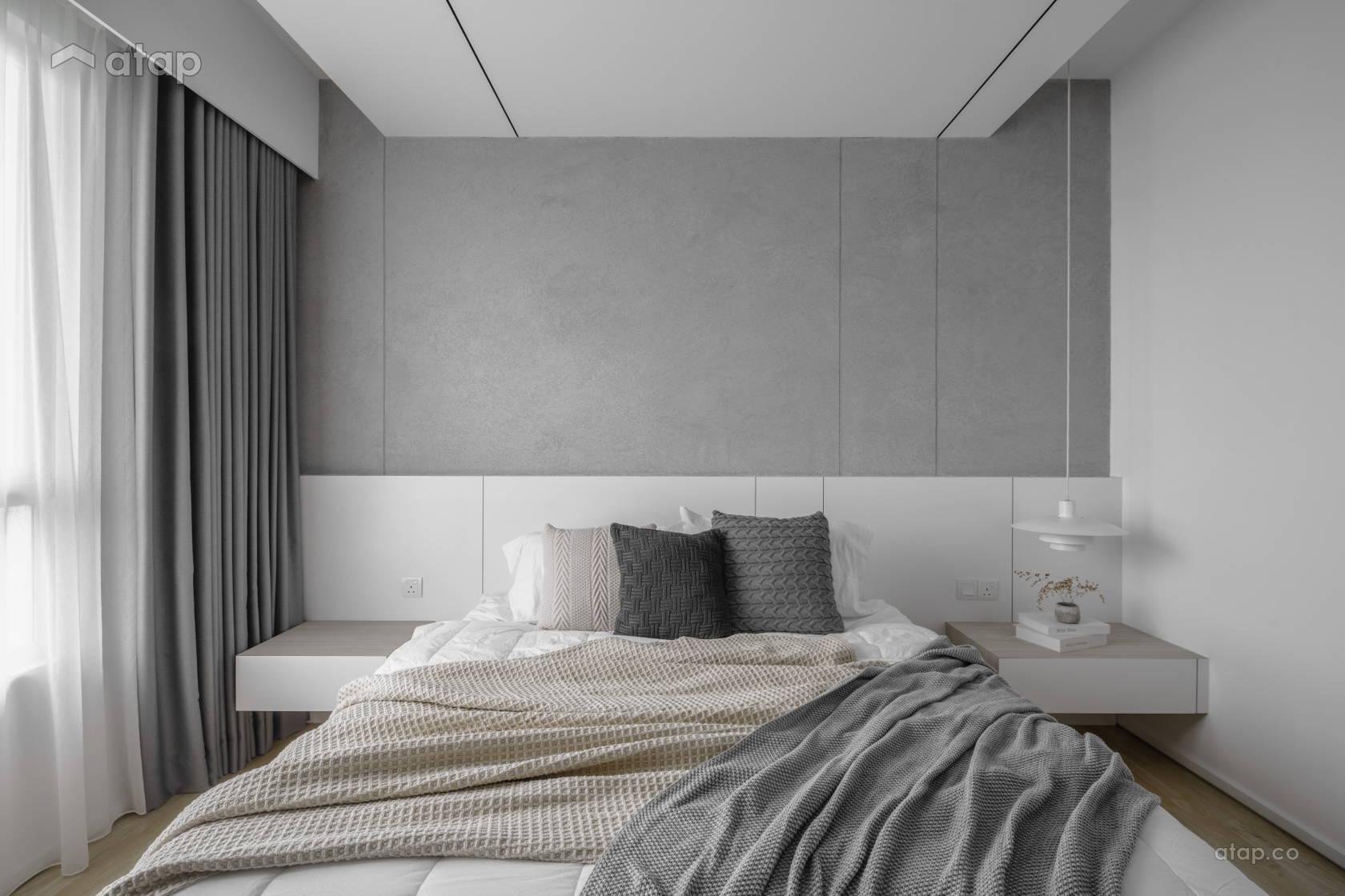 hatsuhinode-condominium-pins-studio-neutral-tone-bedroom