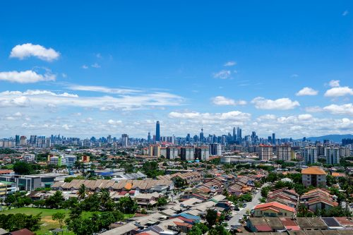 Pemandangan dari Kota KL