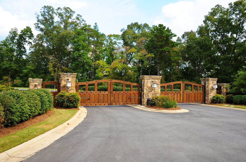 Wooden gates and grilles are not ideal for the Malaysian weather as they will rot easily without proper maintenance.