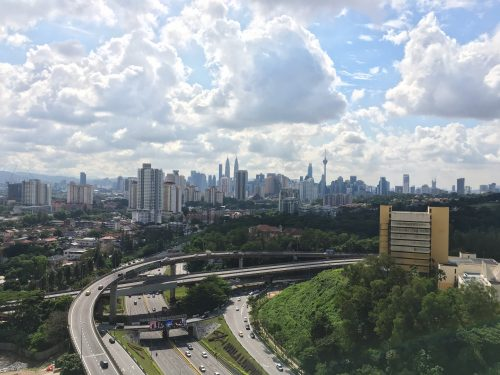 Photos Taken In Sentul of high-rises in Malaysia