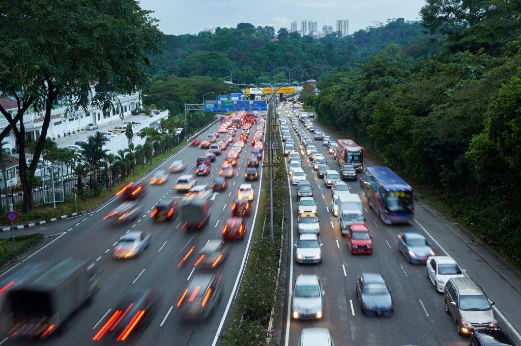 Traffic congestion in Kuala Lumpur and Sentul