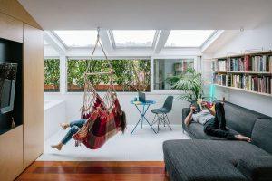 hammock-in-living-room