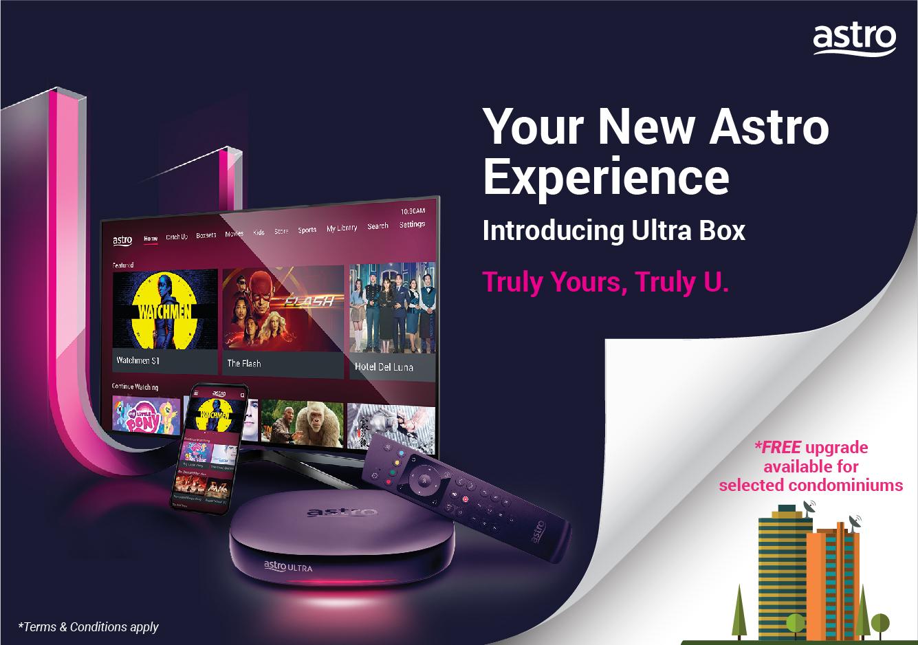 Condominium Residents Can Now Enjoy 4k Uhd On Astro Ultra Box
