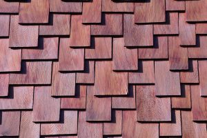 wood shingles roof