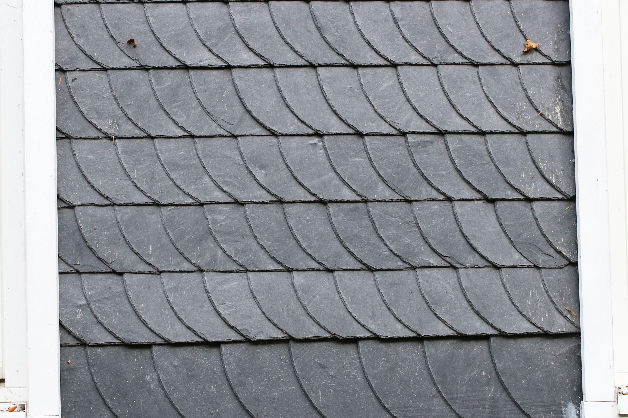 slate shingles roof