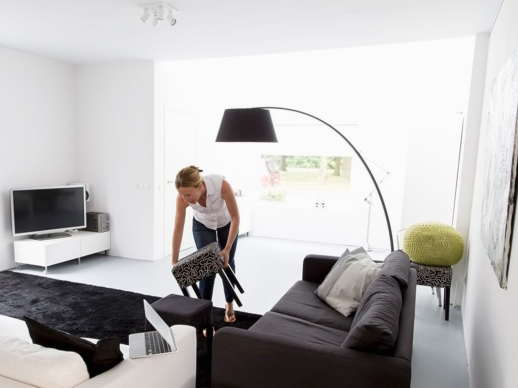Cleaning-living-room