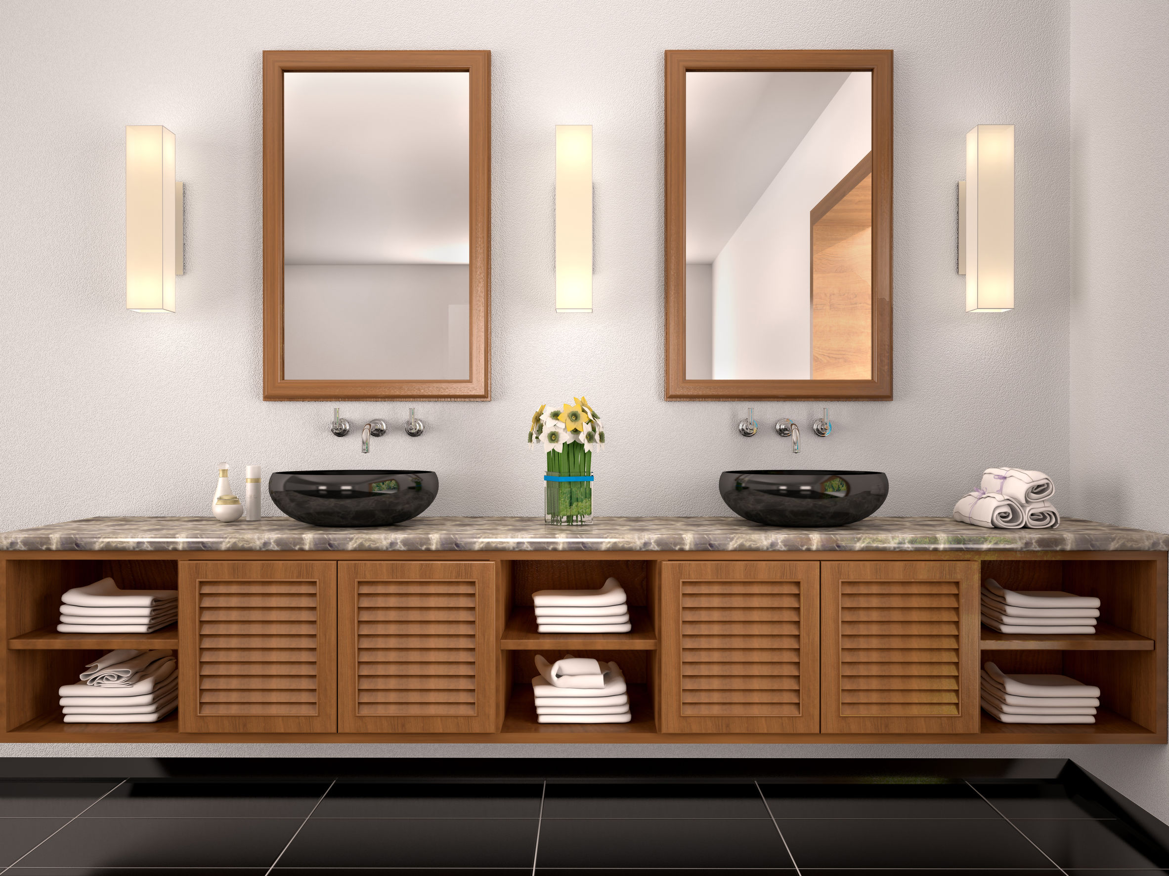 Bathroom trends to stay away from – double sink bathrooms