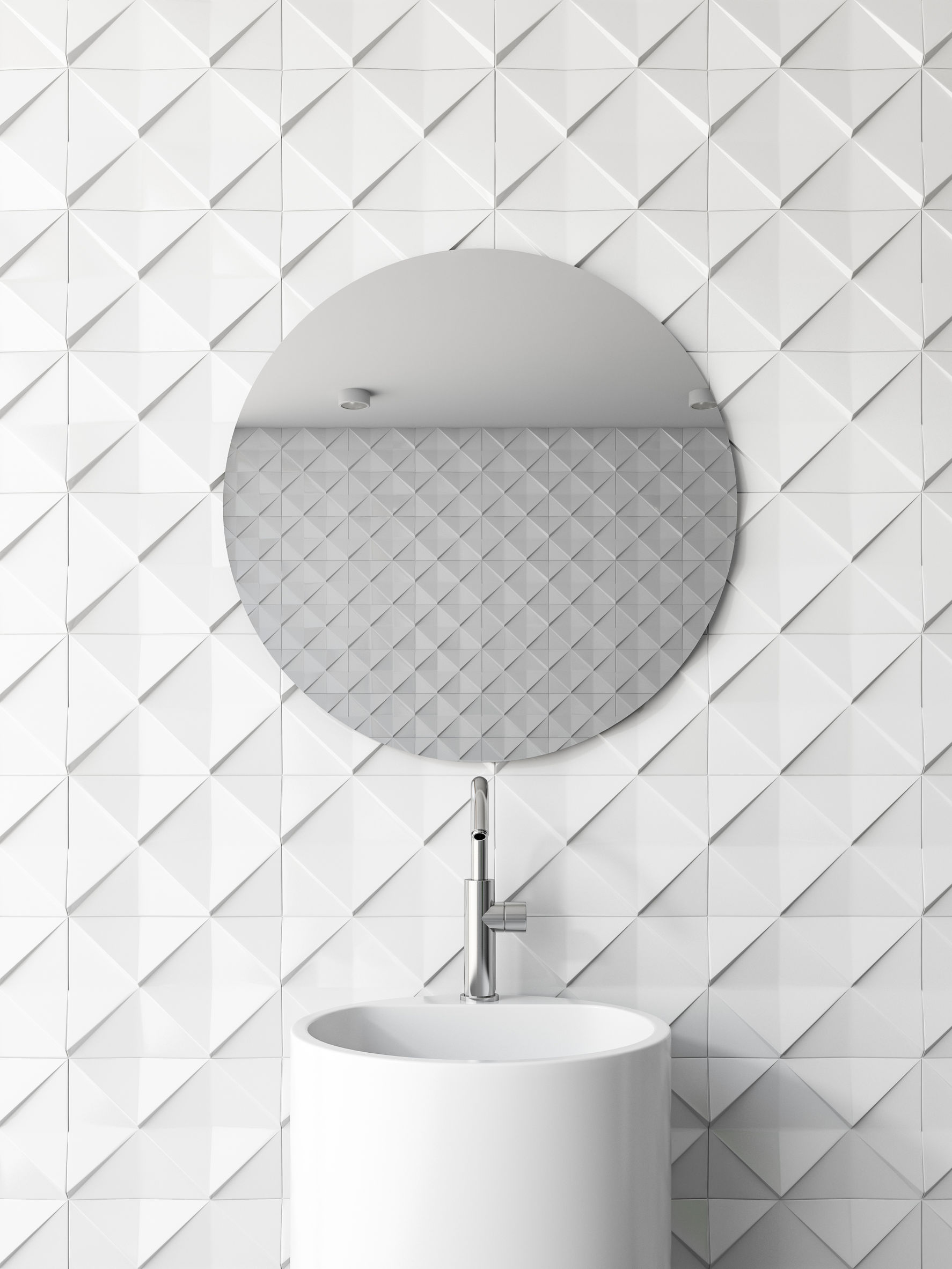 Bathroom trends to stay away from – frameless mirrors