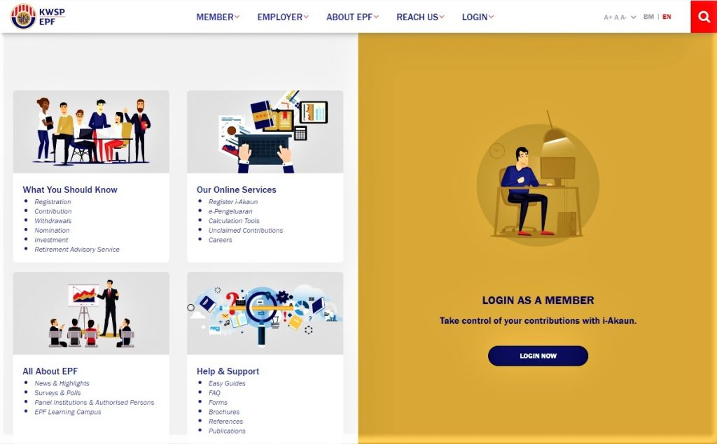 How to apply online for i-Lestari withdrawal