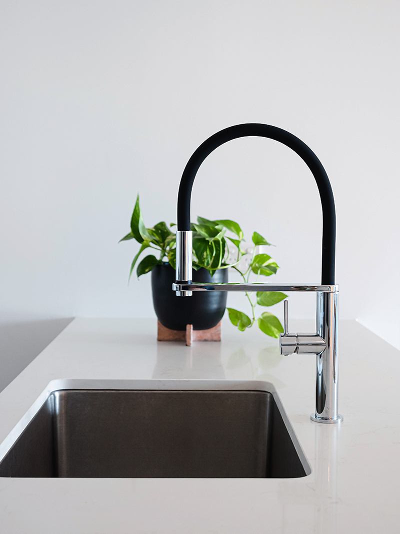6 easy DIY kitchen ideas anyone can do - Replace your sink tap
