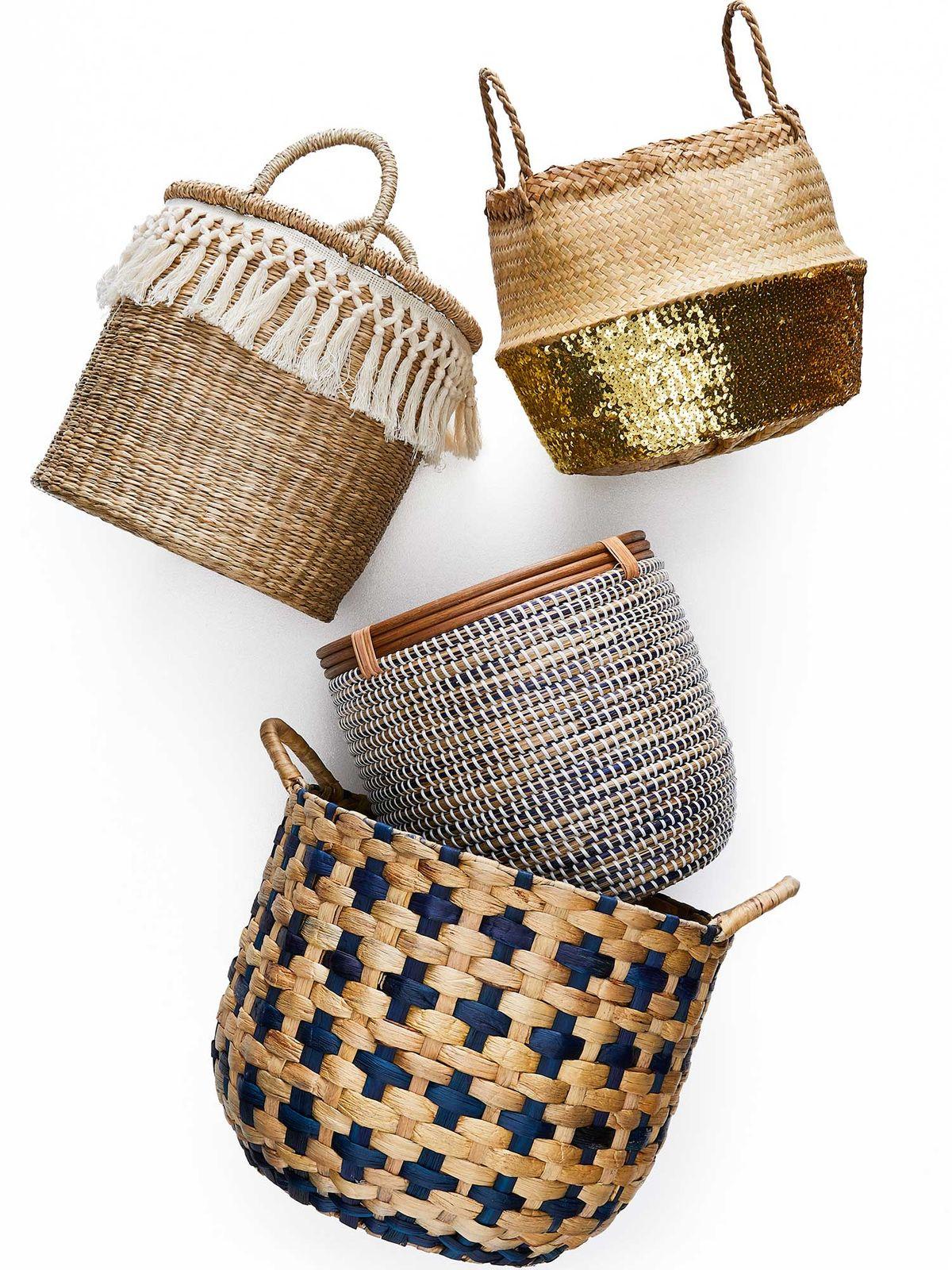 basket ideas for nurseries
