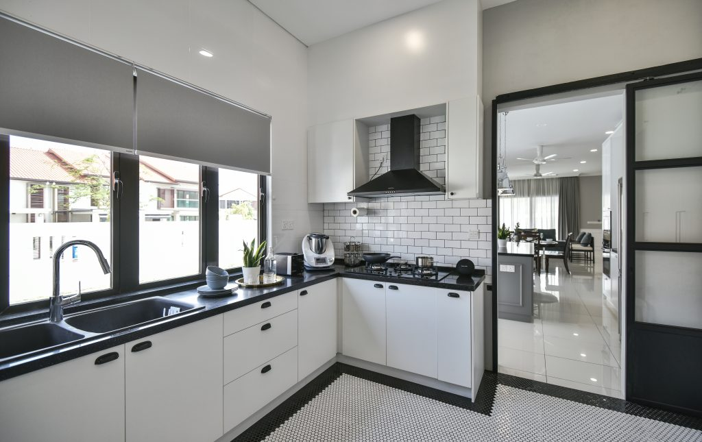 wet and dry kitchen design ideas