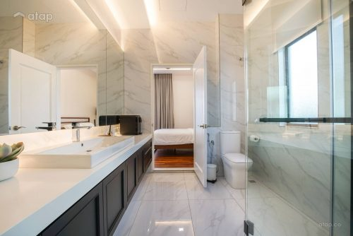 spa-worthy bathroom