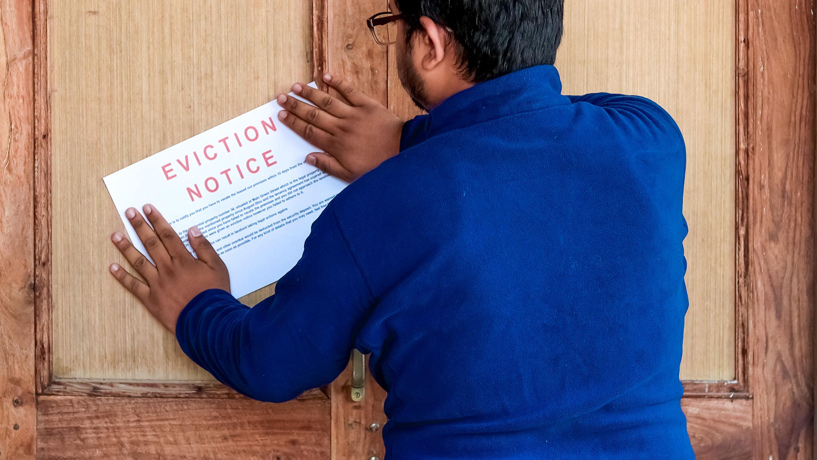 notis pengusiran penyewa (eviction notice)